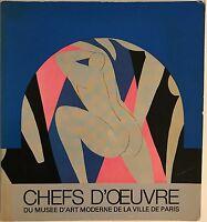 Chefs D'uvre Du Musee D'art Moderne De La Ville De Paris by Musee D'Art Moderne