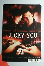 LUCKY YOU ERIC BANA DREW BARRYMORE DUVALL MINI POSTER BACKER CARD (NOT a movie )