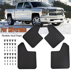 Mud Flaps Splash Guards For Chevrolet Silverado For GMC Mudguards Fender Flares