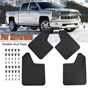 Mud Flaps Splash Guards For Chevrolet Silverado For GMC Mudguards Fender Flares