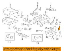 GM OEM Front Seat-Seat Cover-Outer Left 23228779