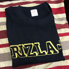 Rizla Logo Gold Black T-Shirt Sizes L/XL 100% Cotton
