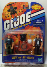 "G.I. JOE DUSTY & LAW N ORDER 2-PACK 3.5"" Collectors Edition Hasbro 57929 / 57682"
