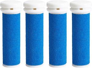 NEU My Rollers™ Mineral Ersatzrollen (Blau) Für Micro Pedi Im 4Er-Pack|Grob
