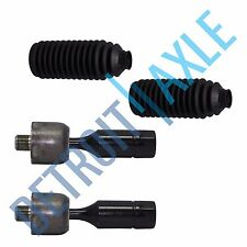 Both (2) Brand New Toyota Inner Tie Rod Ends + 2 Rack and Pinion Tie Rod Boots
