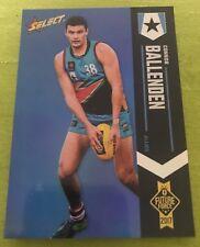 2017 AFL FUTURE FORCE Blue Parallel Card CONNOR BALLENDEN Brisbane #3 068/110