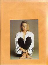 Olivia D'Abo-signed photo-15 c