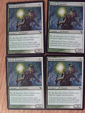 MTG - Shadowmoor - Elvish Hexhunter x4  NM/Mint
