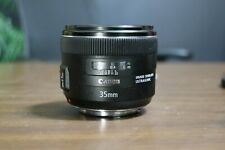 Canon 35mm f2 EF Mount Lens