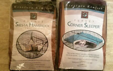 Caddis Siesta Hammock And Corner Sleeper Ferrets Hamsters Squirrels Rats Lot