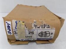 """ARLINGTON QTY (25) 3/4"""" COMPRESSION CONNECTOR 821MT NIB"""