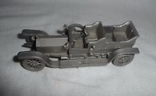 Danbury Mint Pewter 1907 Rolls Royce The Silver Ghost +/- 1/43 scale