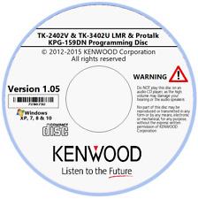 Kenwood KPG-159DN Software Version 1.05 for TK-2402V & TK-3402U LMR & Protalk