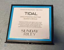 NIB Sunday Riley TIDAL Brightening Enzyme Water Cream  1.7oz / 50g NEW IN BOX