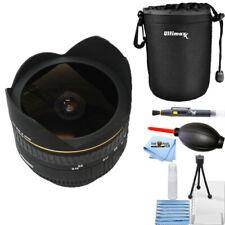 Sigma 15mm f/2.8 EX DG Diagonal Fisheye Lens for Canon EF 476101 STARTER BUNDLE