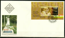 BULGARIA 2020 Mahatma Gandhi. 150th Birth Anniv. - S/S FDC