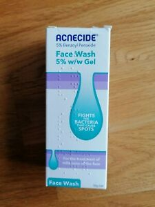 Acnecide - Gel Face Wash with 5% Benzoyl Peroxide, 50g.