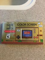 NINTENDO GAME AND WATCH SUPER MARIO BROS HANDHELD CONSOLE  New In Hand!!!!!!