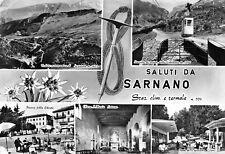 8094) SALUTI DA SARNANO (MACERATA) 5 VEDUTINE.