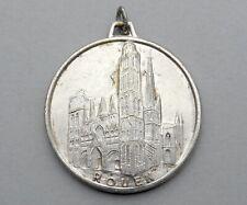 Médaille, Rouen, Cathédrale, Gros Horloge. Pradeilhas.