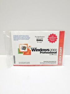 Microsoft Windows 2000 Professional With SP1 New & Sealed