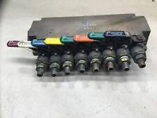 Ppe Plastic Process Equipment Brass Water Manifold 8 Port #10A76Pr2