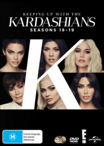 Keeping Up with the Kardashians Season 18 & 19 BRAND NEW Region 4 DVD