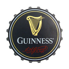 Guinness Bottle Top Shaped Bottle Opener / Fridge Magnet Screw & Flip Tops 2148