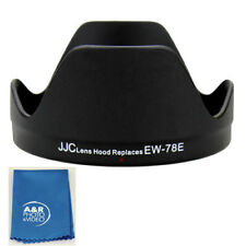 JJC LH-78E Lens Hood shade For CANON EF-S 15-85mm f/3.5-5.6 IS USM Lens EW-78E