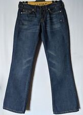 "WOMEN'S JEANS GUESS STRAIGHT DISTRESSED COTTON SIZE 9 LEG 29"" FREE POSTAGE"