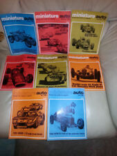 Original Miniature Auto mags 1966 slot cars choose one you want  8 availible