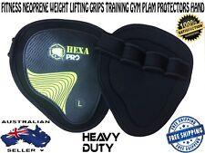 HEXA PRO Fitness Neoprene Weight Lifting Grips Training Gym Palm protectors hand
