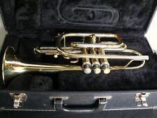 Besson Cornet with case. Missing mouthpiece.