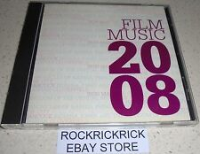 FILM MUSIC 2008 -12 TRACK CD- (SEX AND THE CITY, INDIANA JONES, WALL-E,IRON MAN)