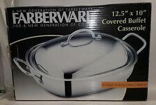 Farberware Classic Series 5-Quart Covered Rectangular Buffet Casserole