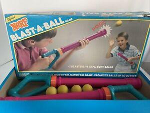 Vintage 1989 Nerf Blast-A-Ball Set No. 0235 Rare!