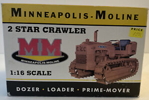 Minneapolis-Moline 2 Star Crawler - SpecCast 1:16 Scale Model #CUST812 SU7
