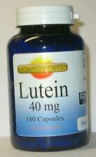 180 Capsules Lutein 40 mg -Eye Health  6 Month Supply