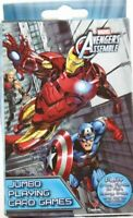 Marvel Avengers Assemble Jumbo Playing Card Games Crazy Eights, Go Fish, Rummy