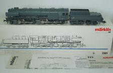 Märklin H0 3301 Dampflok BR 53 Borsig grau