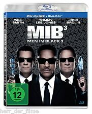 MEN IN BLACK 3 (Will Smith, Tommy Lee Jones) Blu-ray 3D + Blu-ray Disc NEU+OVP