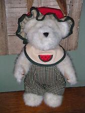 "Boyds Bears Plush 2001 ~10"" Sugar Mcrind~ Best Dressed Series"