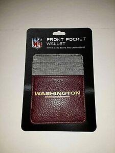 Washington Redskins Front Pocket Wallet
