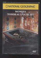 NEUF DVD MOMIES TOMBEAUX OUBLIES NATIONAL GEOGRAPHIC SOUS BLISTER DOCUMENTAIRE