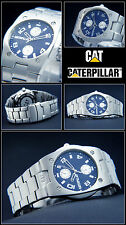 alta qualità & BUONO leggibile MULTI FUNZIONE GMT - CAT Orologio da uomo 10 BAR