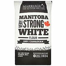 Marriage's Manitoba Very Strong White Flour 16kg 100% Canadian Very High Protein