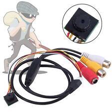 Mini 1/4 HD Color Security Camera 600TVL CCTV Pinhole Cam 3.6mm Lens 1280x960%G