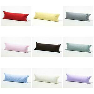 New Luxury Bolster Pillow with Case Long Body Support Orthopedic Pregnancy