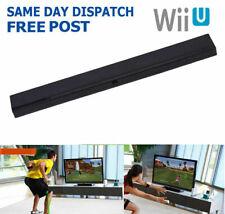 Sensor bar for Wii / Wii U Wii Nintendo Wireless LED Infrared Ray Motion - Blac