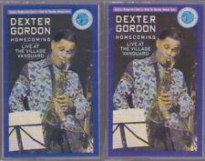 DEXTER GORDON HOME COMING LIVE AT THE VILLAGE VANGUARD 2-CASSETTE 1990 RARE